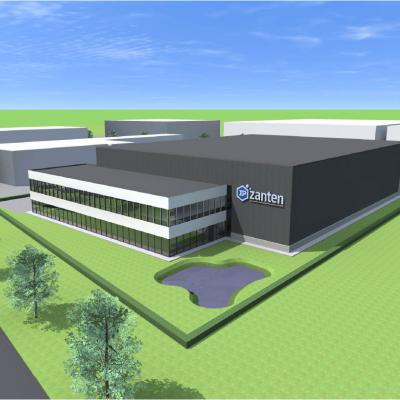 Nieuwbouw kantoor IP Zanten Veghel