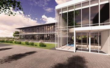 Nieuwbouw kantoor ABUS te Nieuwegein
