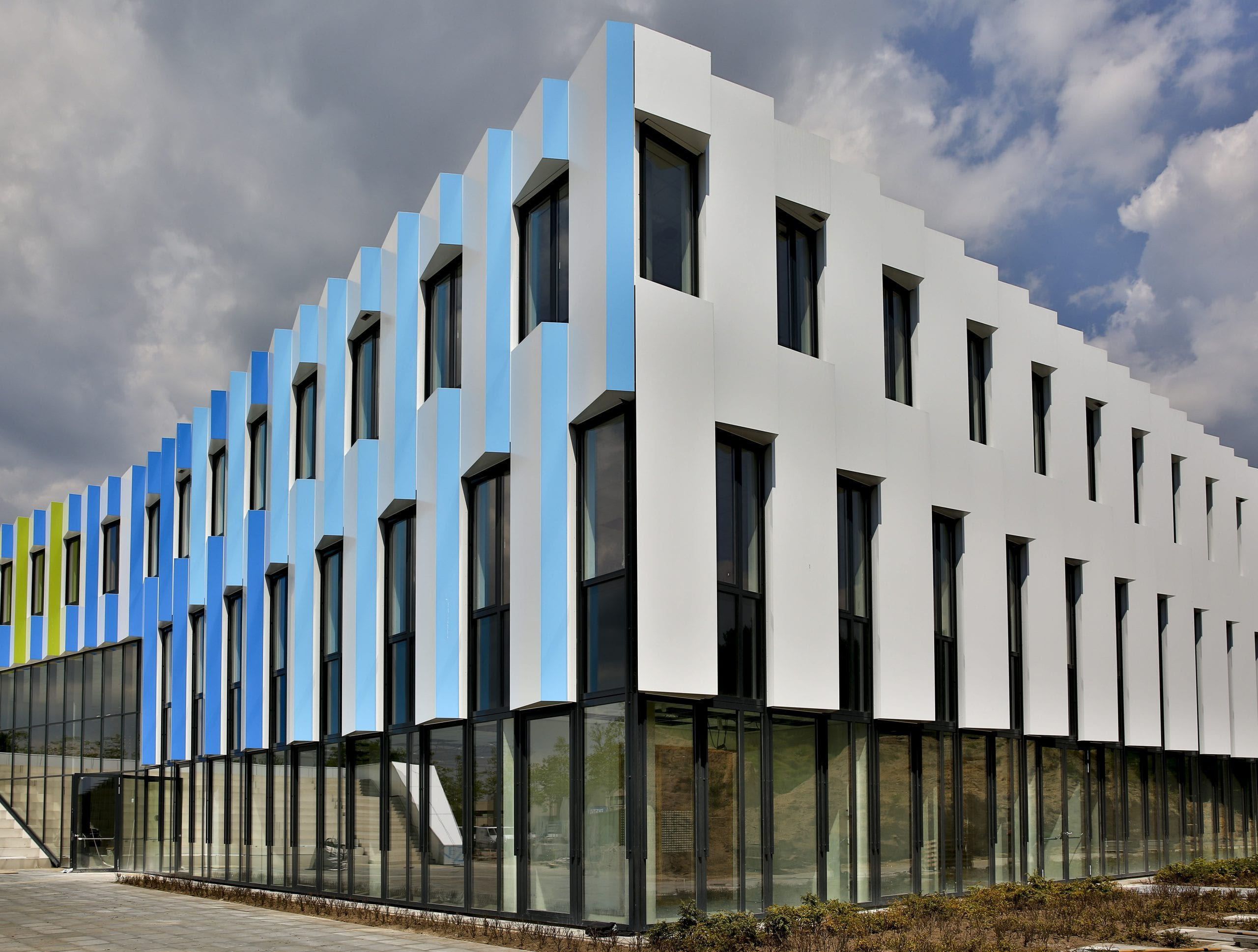 Nieuwbouw Frits Philips Lyceum te Eindhoven
