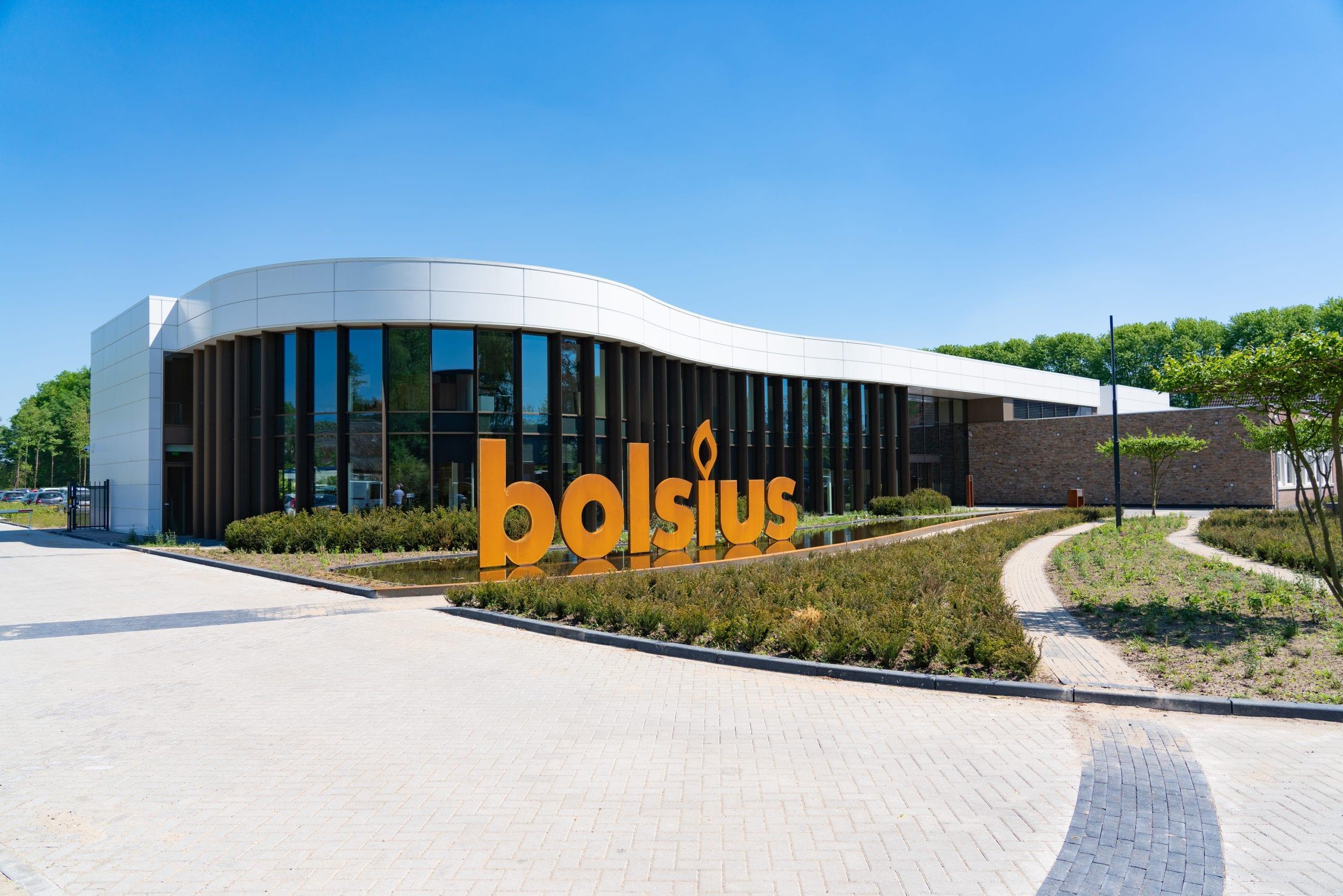 Nieuwbouw hoofdkantoor Bolsius